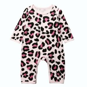 PINK LEOPARD | Baby toddler one-piece romper